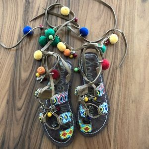 Sam Eldman girls Sandals